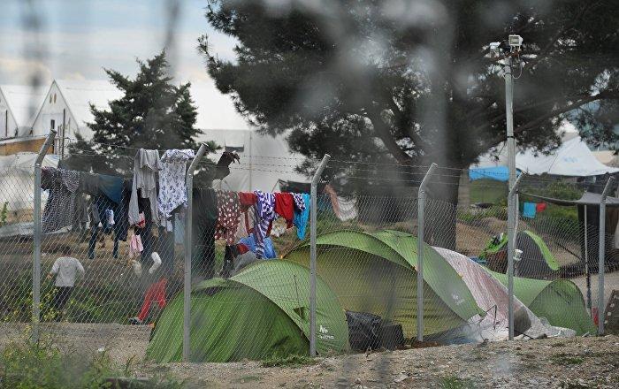 В литовских лагерях для беженцев — бесчеловечные условия