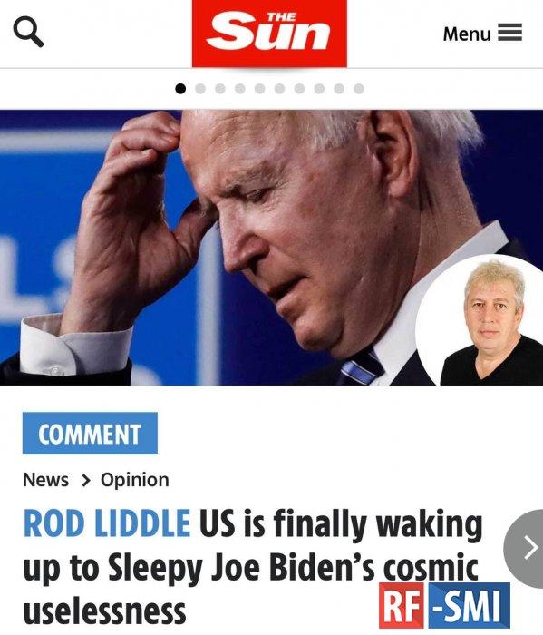The Sun: «Постепенно американцы понимают, что они избрали своим президентом  идиота