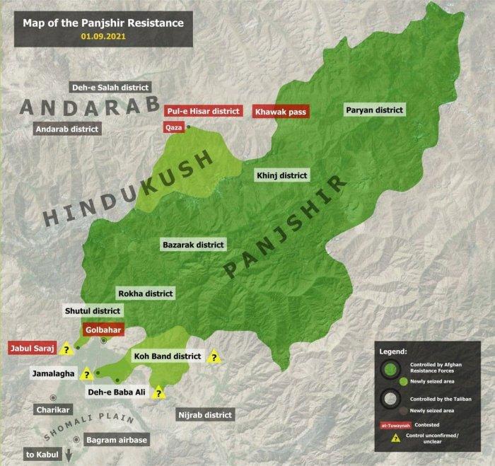 На перевале Хавак в оперативное окружение попала крупная группировка талибов
