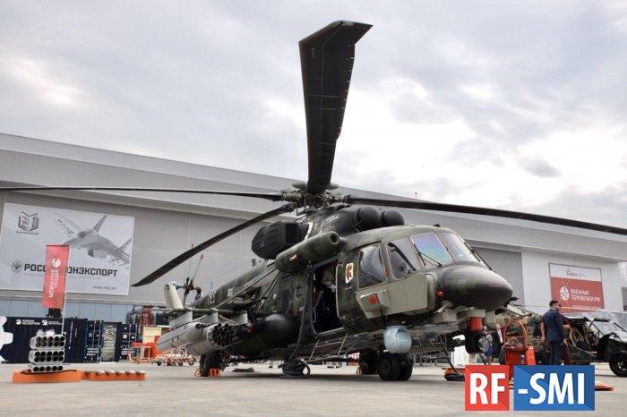 Поставки России Китаю вертолётов Ми-171Ш Storm завершатся в 2022 году