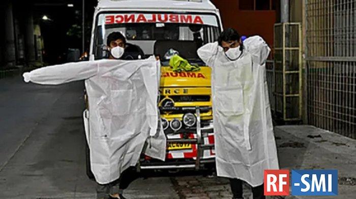 ВИндии зафиксировали вспышку убивающего до75процентов заболевших вируса