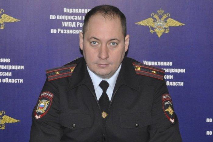 ВРязани задержали замглавы отдела областного управления полиции