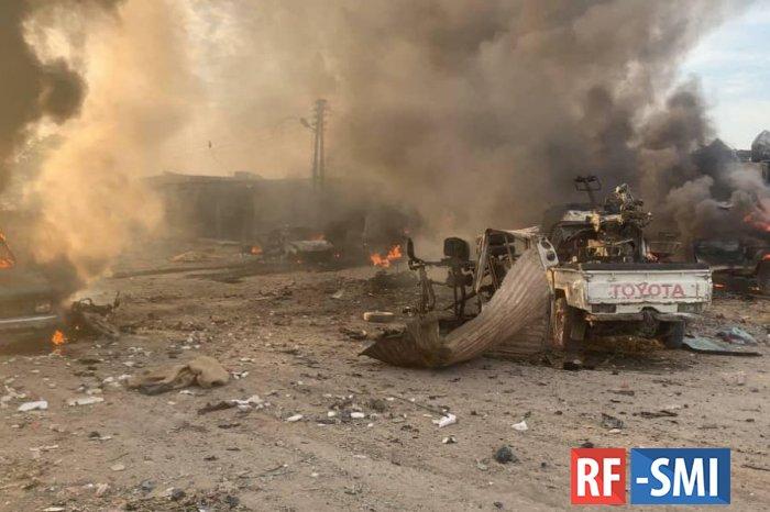 Военнослужащий ВС РФ погиб при подрыве автомашины в Сирии