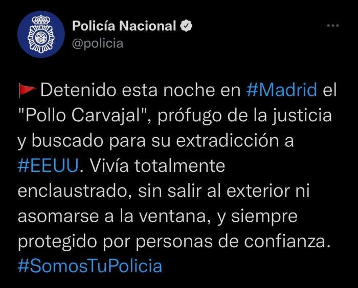 Полиция Испании по запросу США задержала экс-главу разведки Венесуэлы