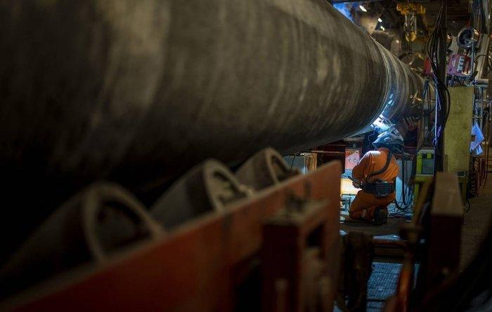 """""""Газпром"""": строительство """"Северного потока —2"""" полностью завершено"""