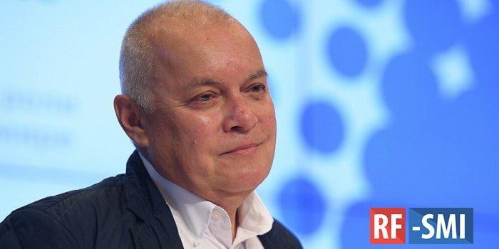 Киселев назвал отказ США в аккредитации журналистов РИА Новости травлей