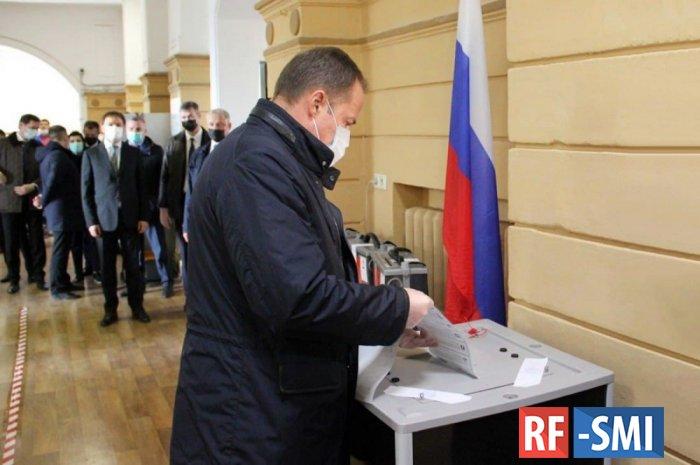 Промежуточные данные по явке избирателей на выборы в Госдуму: