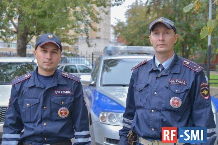 Президент наградил Орденом Мужества мл. лейтенанта полиции Калинина