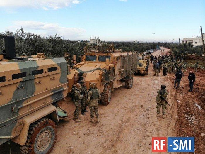 В Сирии окружена группировка турецких военных