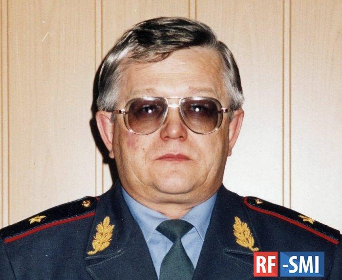 Умер бывший глава МВД Хакасии генерал Виталий Журавель